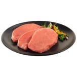 Schweine Steak aus dem Rücken