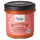Nabio Proteinaufstrich Knallererbse Kichererbse Tomate 140g