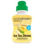 Sodastream Ice Tea Zitrone Geschmack Sirup 375ml