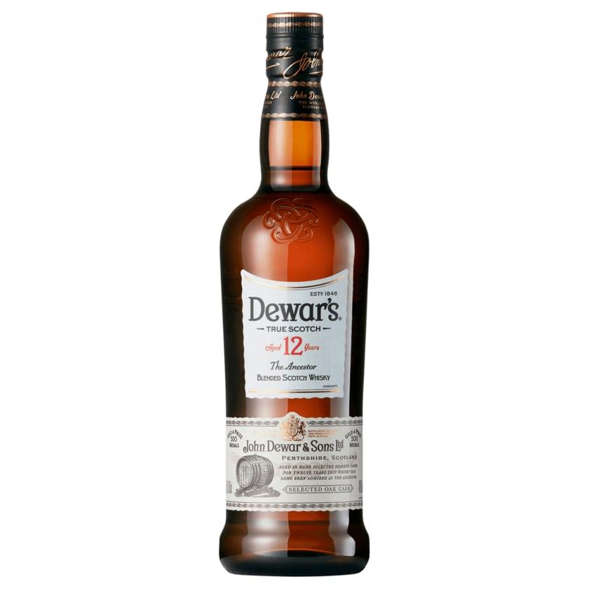 Dewars Scotch Whisky 12 Jahre 40% 0,7l
