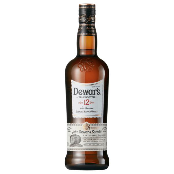 Dewars Scotch Whisky 12 Jahre 40% 0,7l
