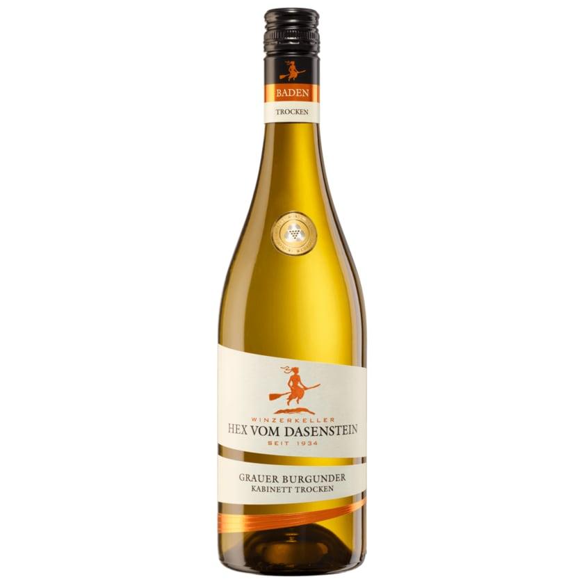 Hex vom Dasenstein Weißwein Grauer Burgunder Kabinett trocken 0,75l