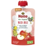 Demeter Holle Bio Organic Red Bee Apfel mit Erdbeere 100g