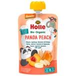 Holle Panda Peach Bio Pfirsich, Aprikose & Banane mit Dinkel 100g