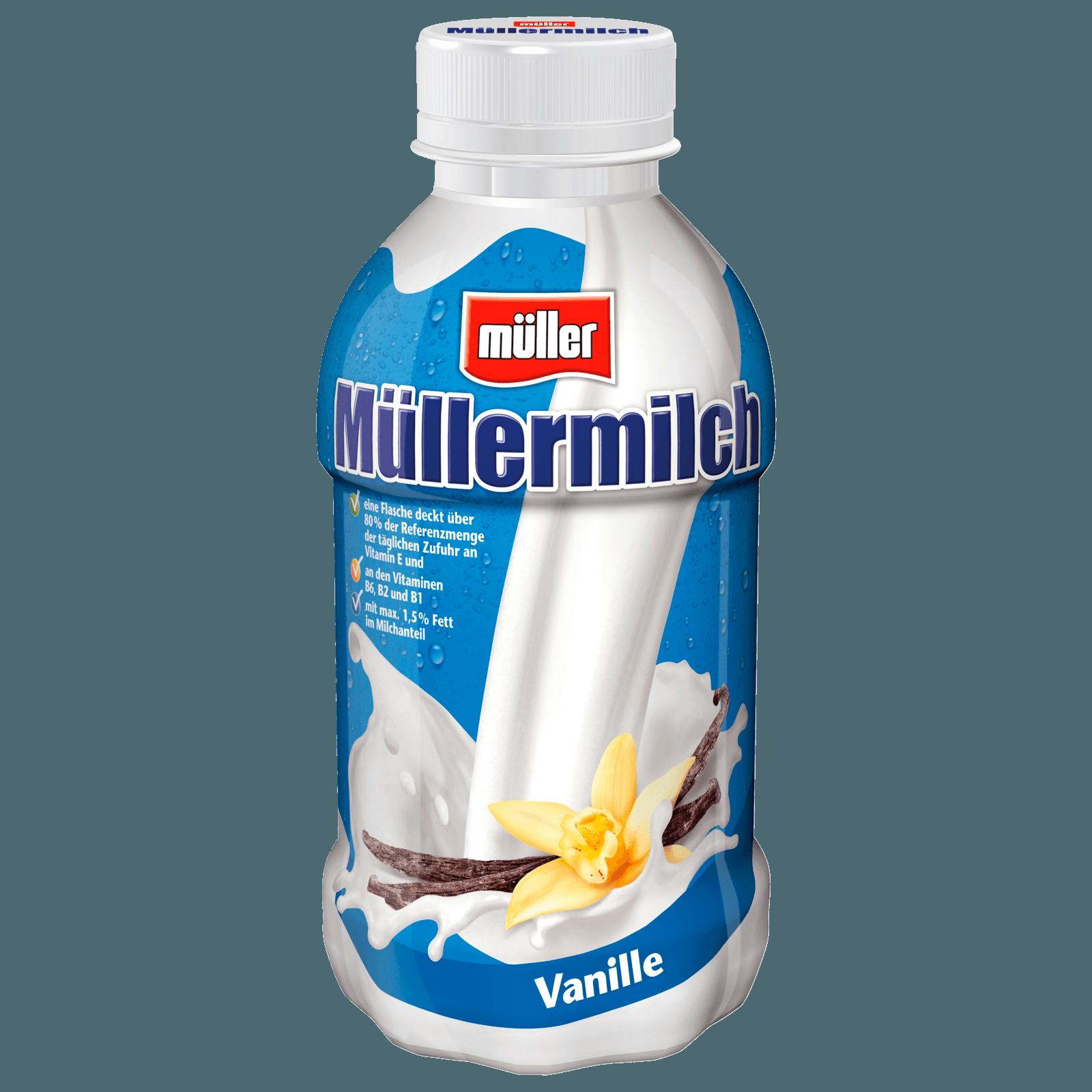 Müller Müllermilch Vanille 400ml bei REWE online bestellen!