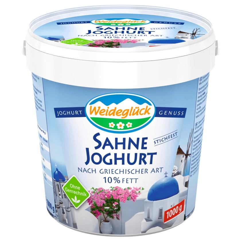 Weideglück Sahnejoghurt griechischer Art 1kg