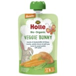 Holle Veggie Bunny Bio Karotte & Süsskartoffel mit Erbsen 100g