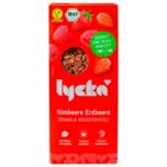 Lycka Bio Granola Knuspermüsli Himbeere Erdbeere 350g