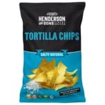 H&S Tortilla Chips Salty Natural 125g