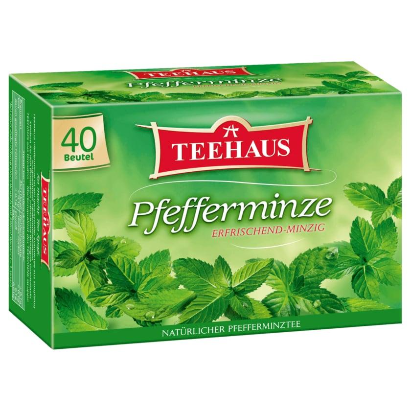 Teehaus Pfefferminze 70g, 40 Beutel