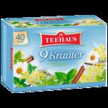 Teehaus 9 Kräuter 60g, 40 Beutel