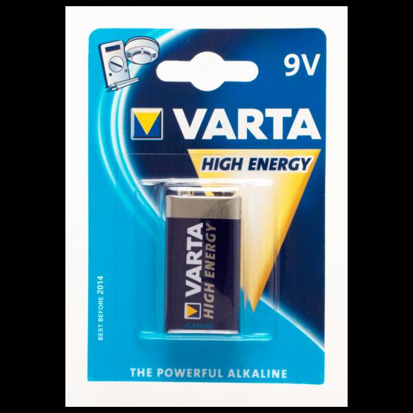 Varta E-Block Batterie High-Energy 9V
