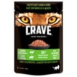 Crave Adult Katzenfutter Pastete mit Lamm & Rind 85g