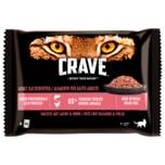 Crave Pastete mit Lachs & Huhn 1+ Jahre 4x85g