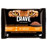 Crave Pastete mit Huhn & Truthahn 1+ Jahre 4x85g
