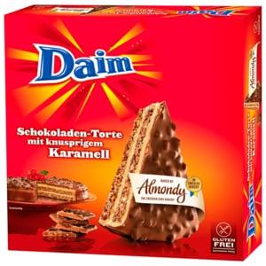 Almondy Daim Schokoladen-Torte mit knusprigem Karamell 400g