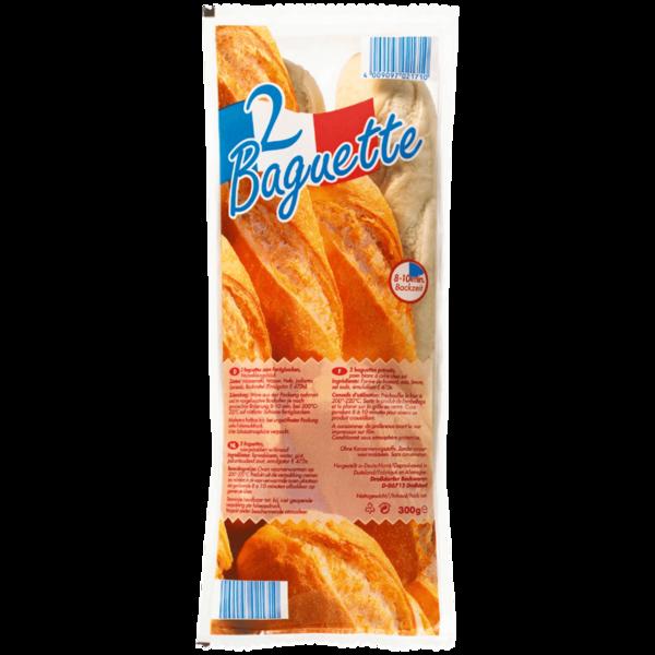 Droßdorfer Backwaren Baguettes 300g, 2 Stück