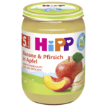 Hipp Banane & Pfirsich in Apfel 190g