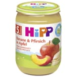 Hipp Bio Banane & Pfirsich in Apfel 190g