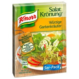 Knorr Salatkrönung Würzige Gartenkräuter 450ml