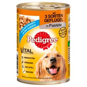 Pedigree Hundefutter 3 Sorten Geflügel 400g