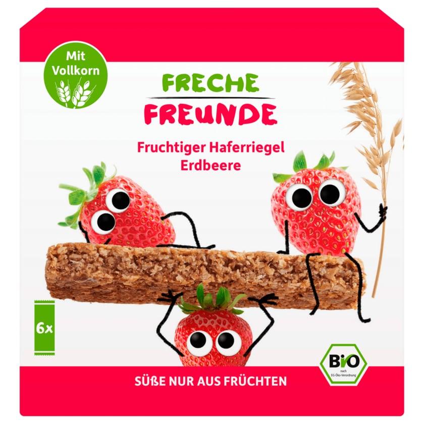 Erdbär Freche Freunde Bio fruchtiger Haferriegel Erdbeere 6x30g