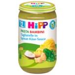 Hipp Pasta Bambini Bio Tagliatelle in Spinat-Käsesauce 250g