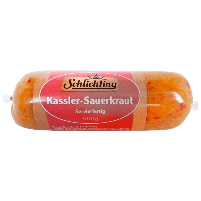 Schlichting Kassler-Sauerkraut Servierfertig 500g