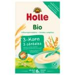 Holle Bio Vollkorngetreidebrei 3-Korn 250g