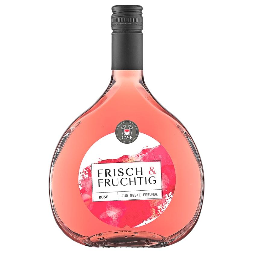 GWF Rosé frisch & fruchtig halbtrocken 0,75l