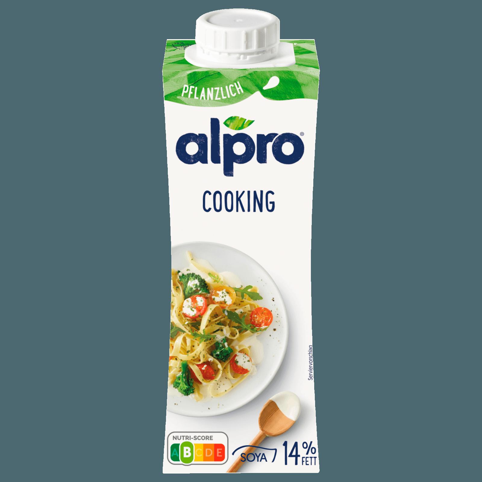Alpro Sojaprodukt zum kochen, Cuisine 250ml, 53