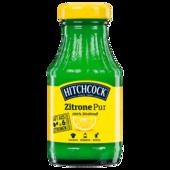 Hitchcock Zitronensaft 100% Direktsaft 0,2L Glas