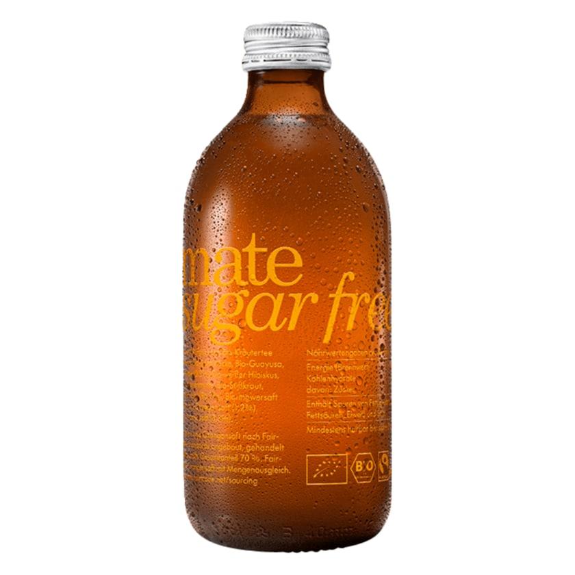 ChariTea Bio Fairtrade Eistee Mate Ginger Sugarfree 0,33l