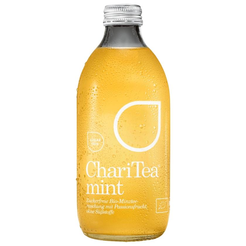 ChariTea Bio Fairtrade Eistee Mint Sugarfree 0,33l