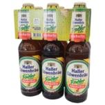 Haller Löwenbräu naturtrübes Radler alkoholfrei 6x0,33l