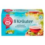 Teekanne Wohltuende 8 Kräuter 40g, 20 Beutel