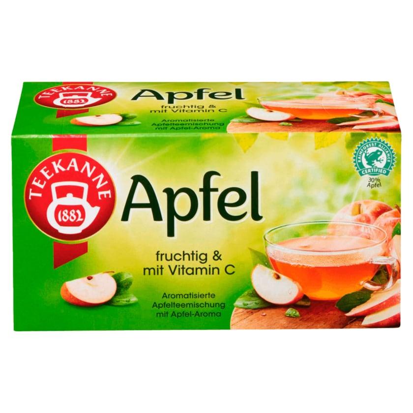 Teekanne Fruchtiger Apfel 60g, 20 Beutel