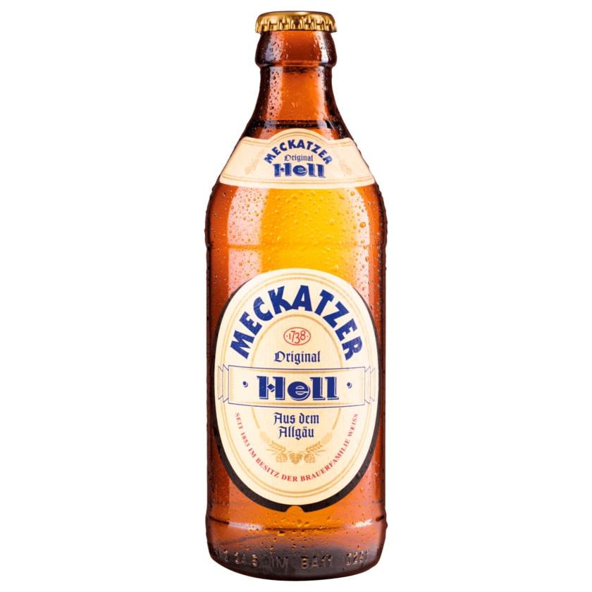 Meckatzer Original Hell 0,33l