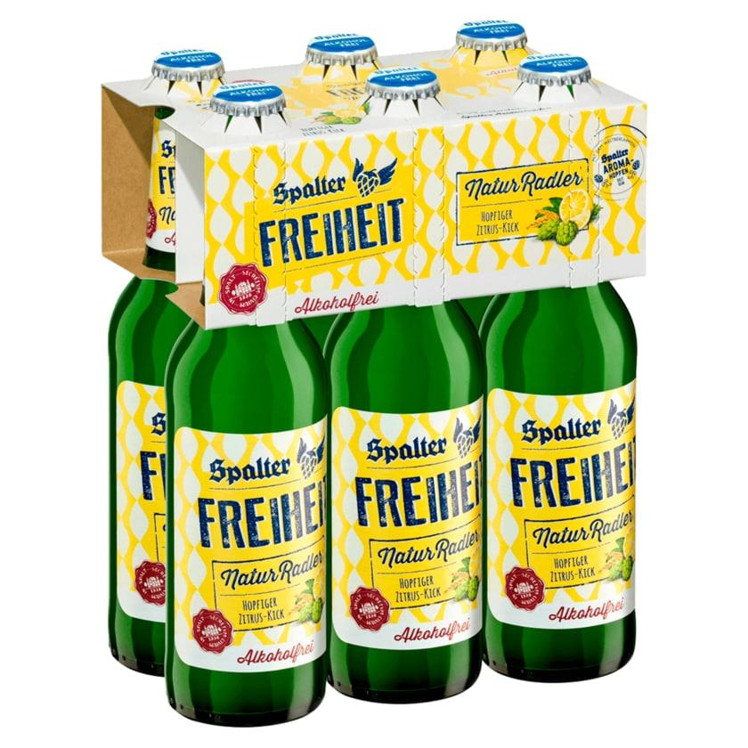 Spalter Freiheit Natur-Radler alkoholfrei 6x0,33l