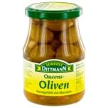 Feinkost Dittmann Queens-Oliven gefüllt mit Mandeln 190g