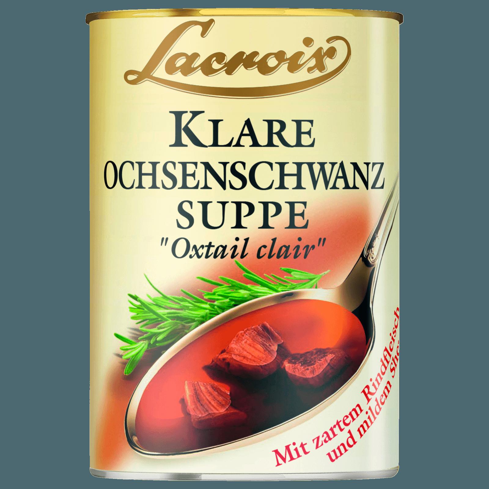 Lacroix Klare Ochsenschwanzsuppe 400ml