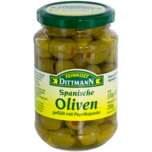 Feinkost Dittmann Oliven grün mit Paprikapaste 200g