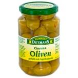 Feinkost Dittmann Queens-Oliven mit Paprikapaste 200g