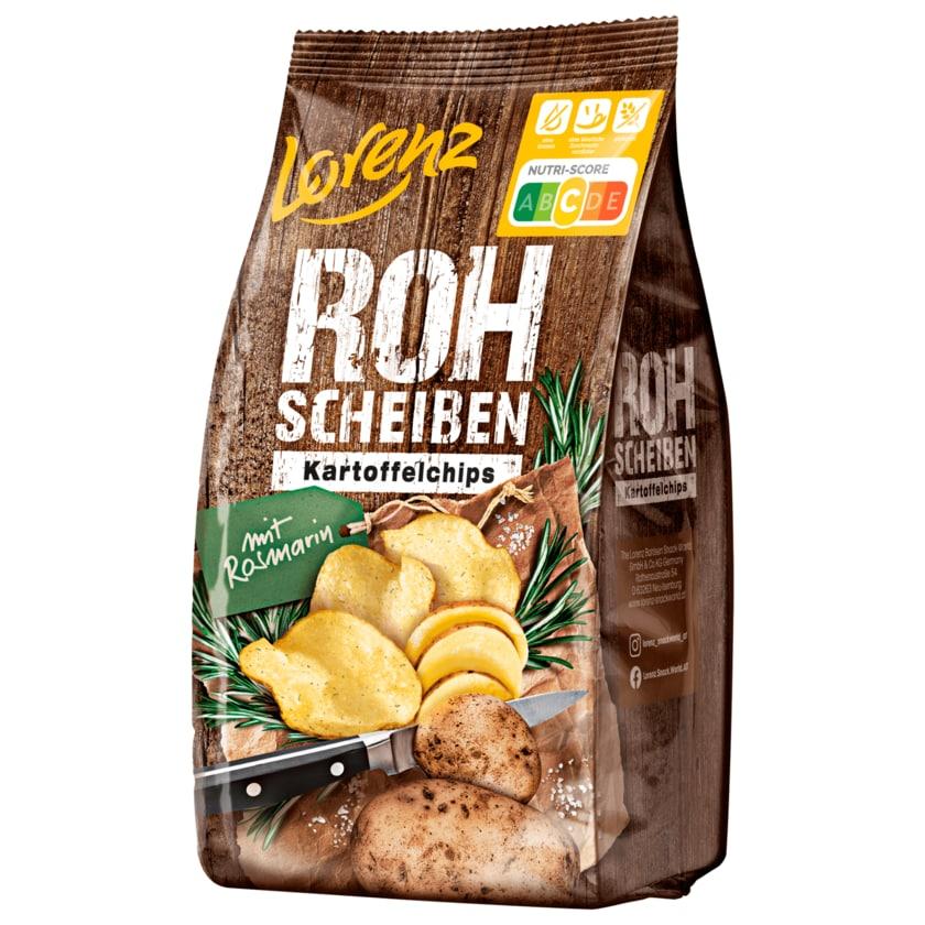 Lorenz Rohscheiben Kartoffelchips mit Rosmarin 120g
