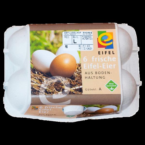 Eifel-Eier Bodenhaltung 6 Stück