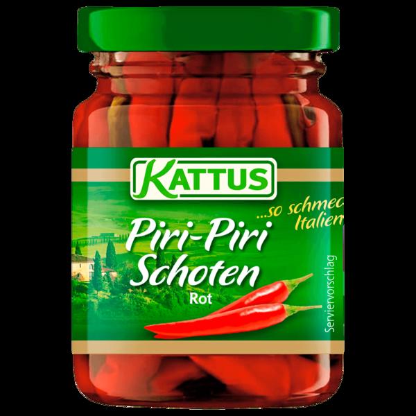 Kattus Piri-Piri-Schoten Rot 50g