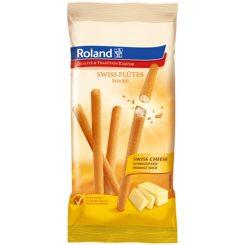 Roland Swiss Flutes Käse 125g