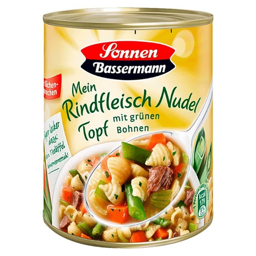 Sonnen Bassermann Rindfleisch-Nudeltopf 800g