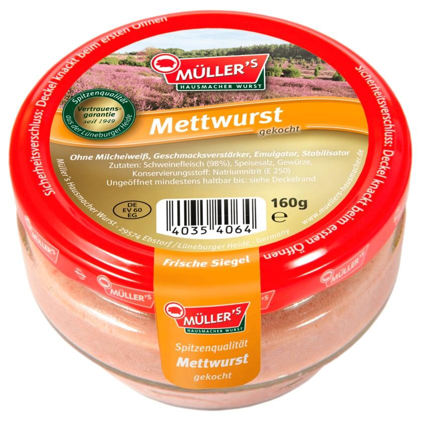 Müller's Mettwurst 160g