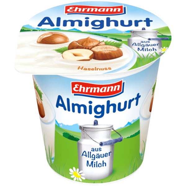 Ehrmann Almighurt Haselnuss 150g